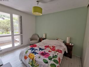 Natural renovation in a bedroom